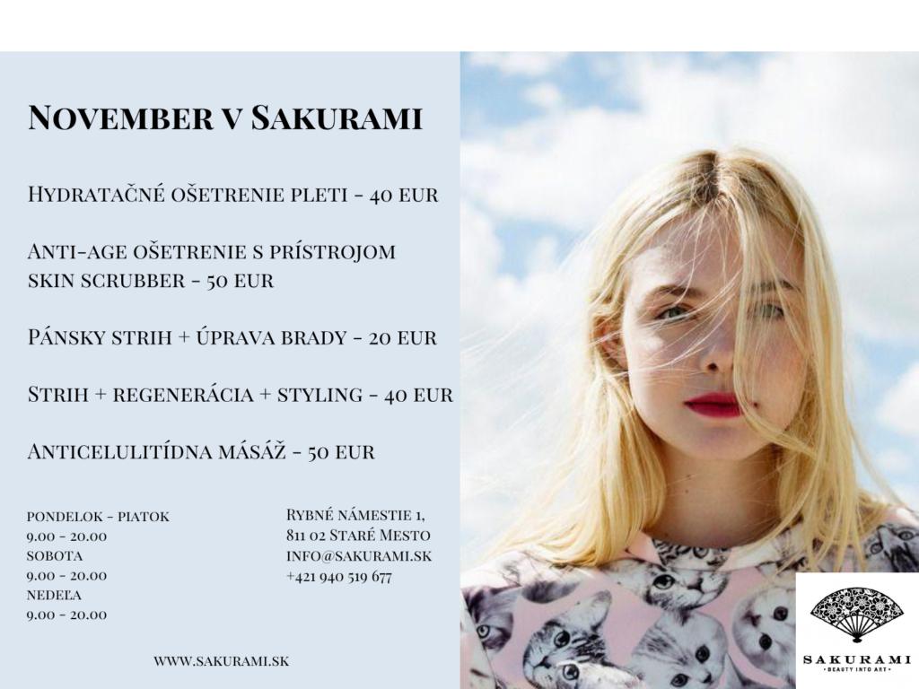November v Sakurami