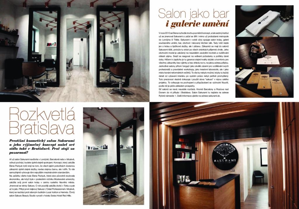 L'Oreal magazine